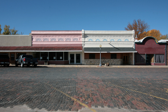 Broadway Street, Cottonwood Falls, KS (Brick)  2011